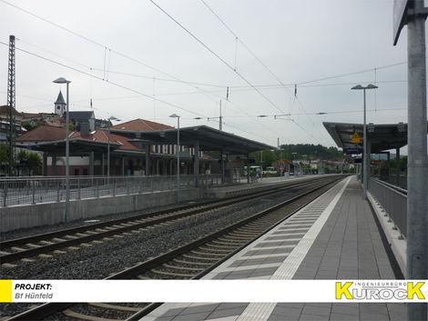 Barrierefreier Ausbau der Verkehrsstation Bf Hünfeld