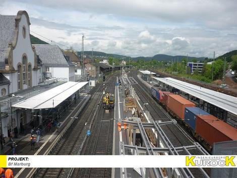 Barrierefreier Ausbau der Verkehrsstation Bf Marburg