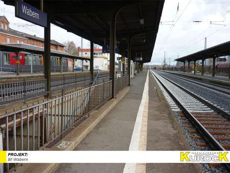 Barrierefreier Ausbau der Verkehrsstation Bf Wabern