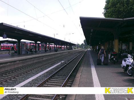 Barrierefreier Ausbau der Verkehrsstation Bf Friedberg